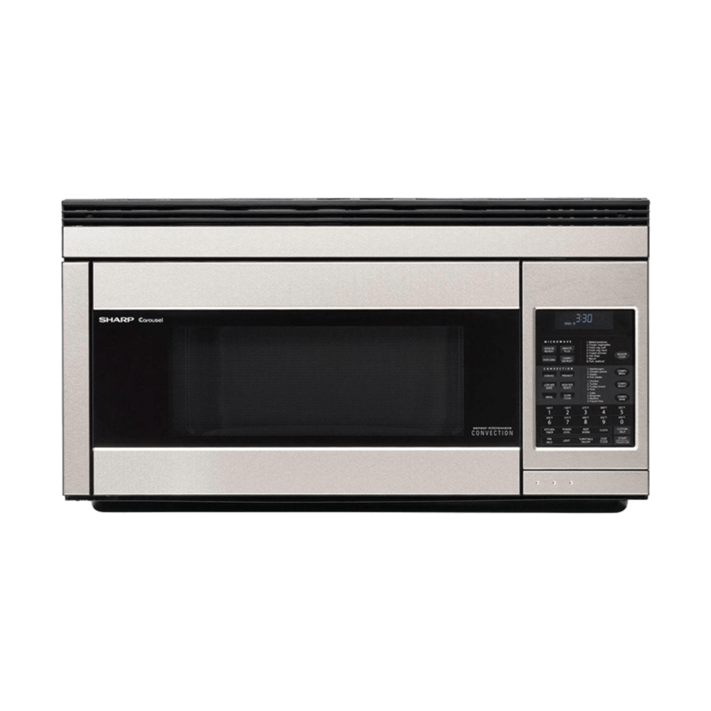Ft Stainless Steel Over The Range Microwave Convection Sharp R1874ty