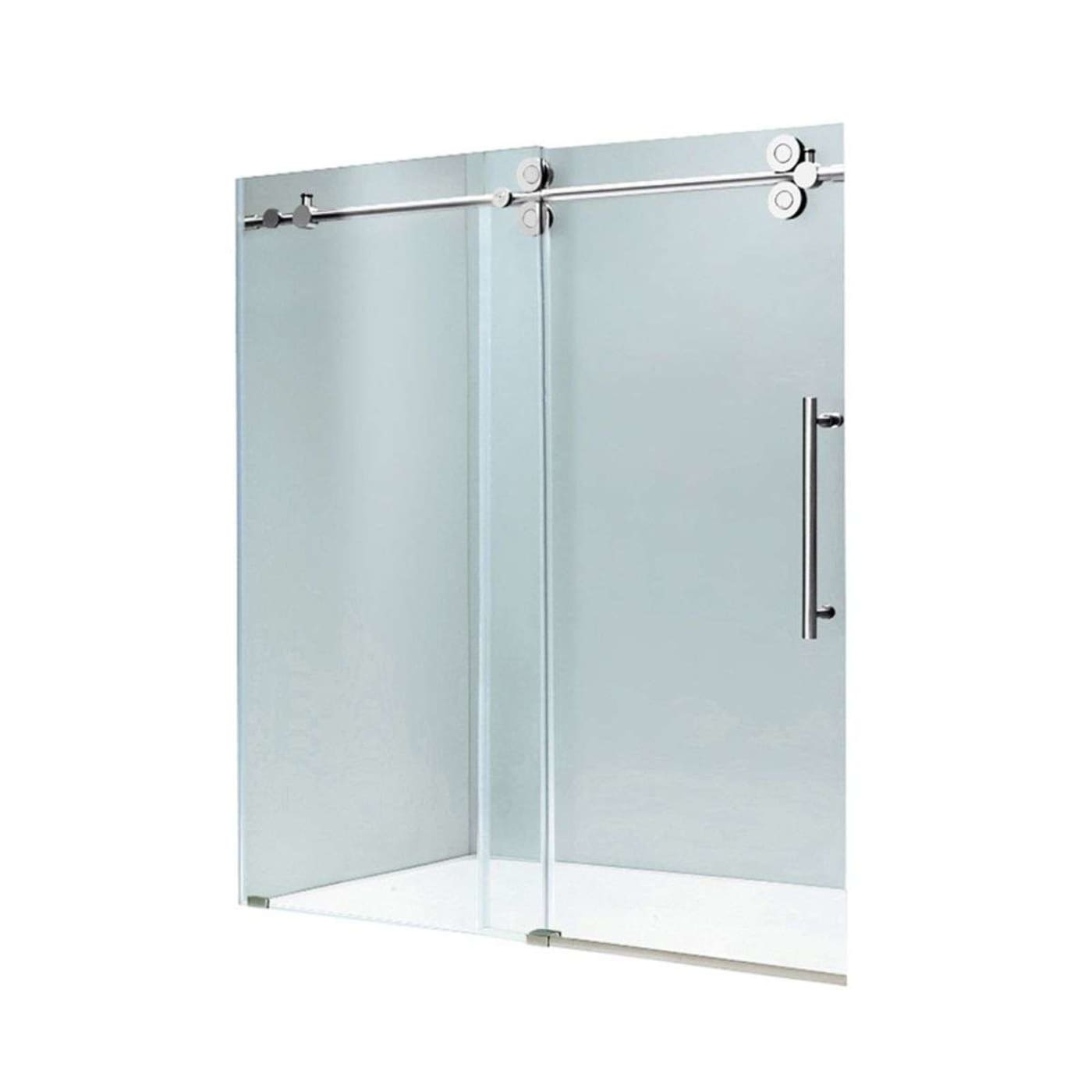 of clear best size reviews service bathtub parts doors dreamline shower sliding full customer glass tub door inch vs frameless replacement vigo