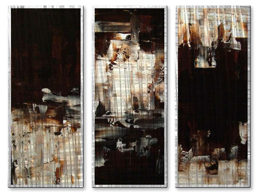 """23.5"""" x 32"""" """"Dark Shadows"""" Metal Wall Art by Stacy Hollinger"""