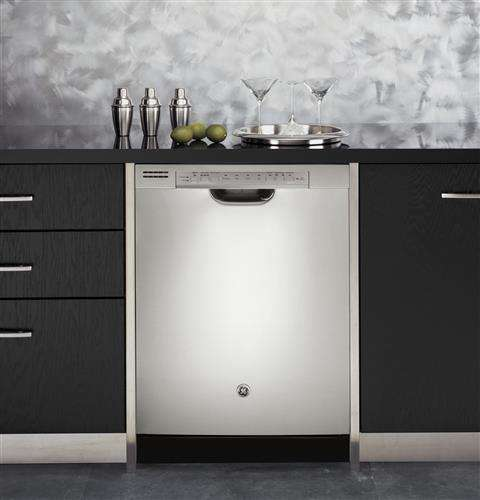 "24"" Stainless Steel Full Console Dishwasher - Energy Star"