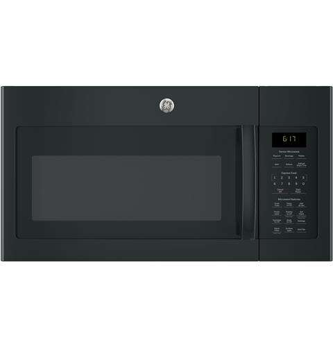 1.7 cu. ft. Black Over-the-Range Microwave