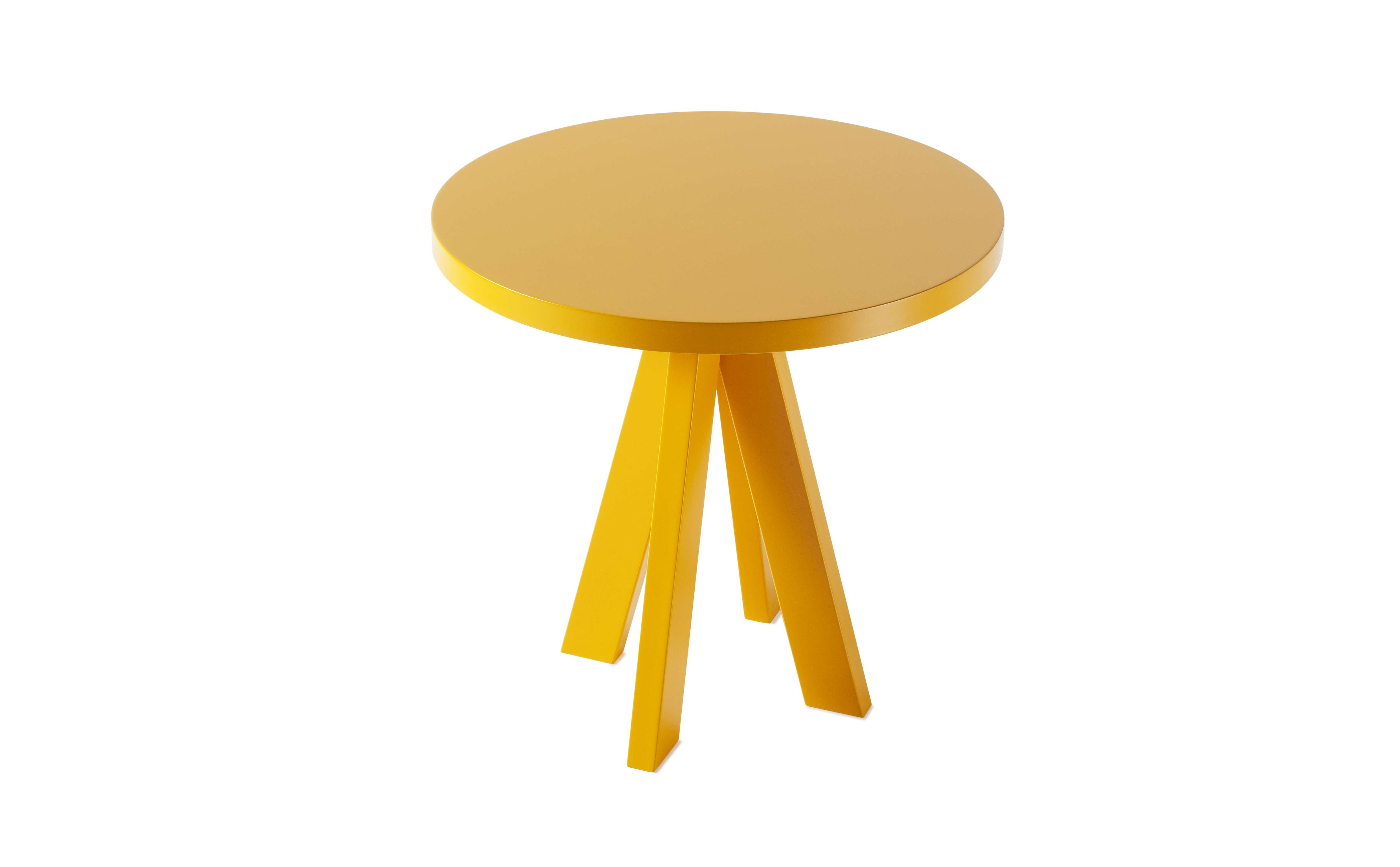 Angelo Collection Coffee Table in Signal Yellow