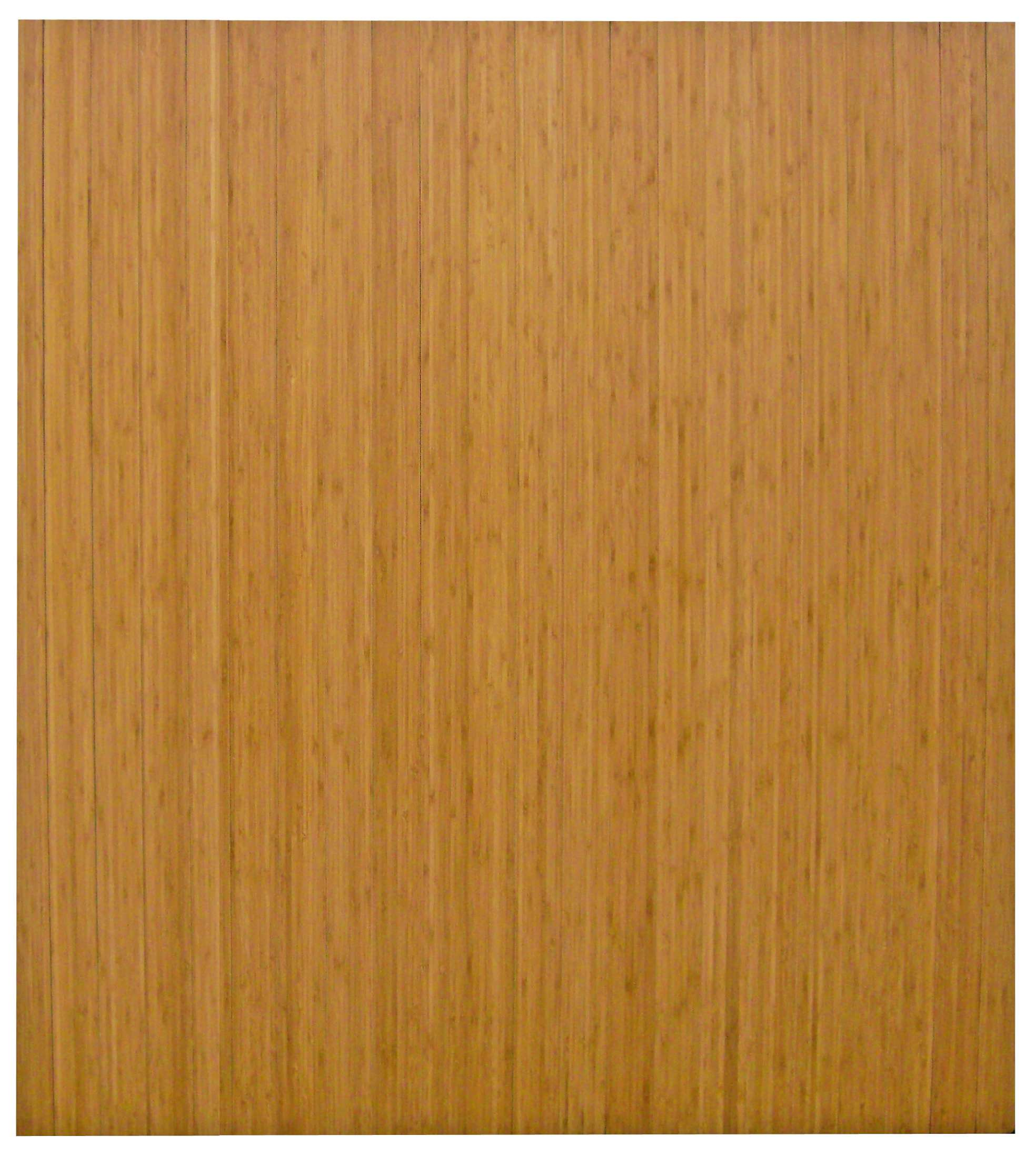 """Bamboo Roll-Up 42"""" x 48"""" Natural Chairmat without Lip"""