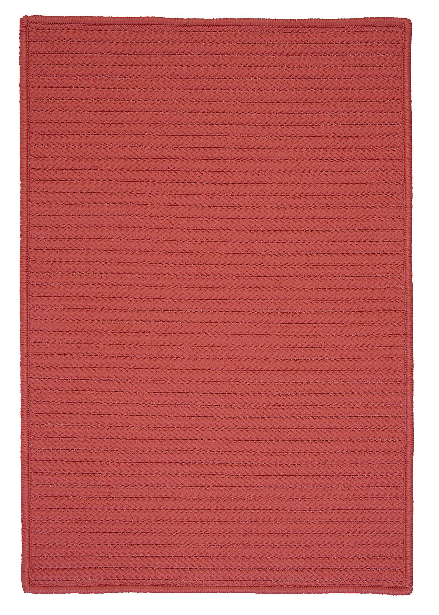 Simply Home Solid Terracotta 10'x13' Rectangular Rug