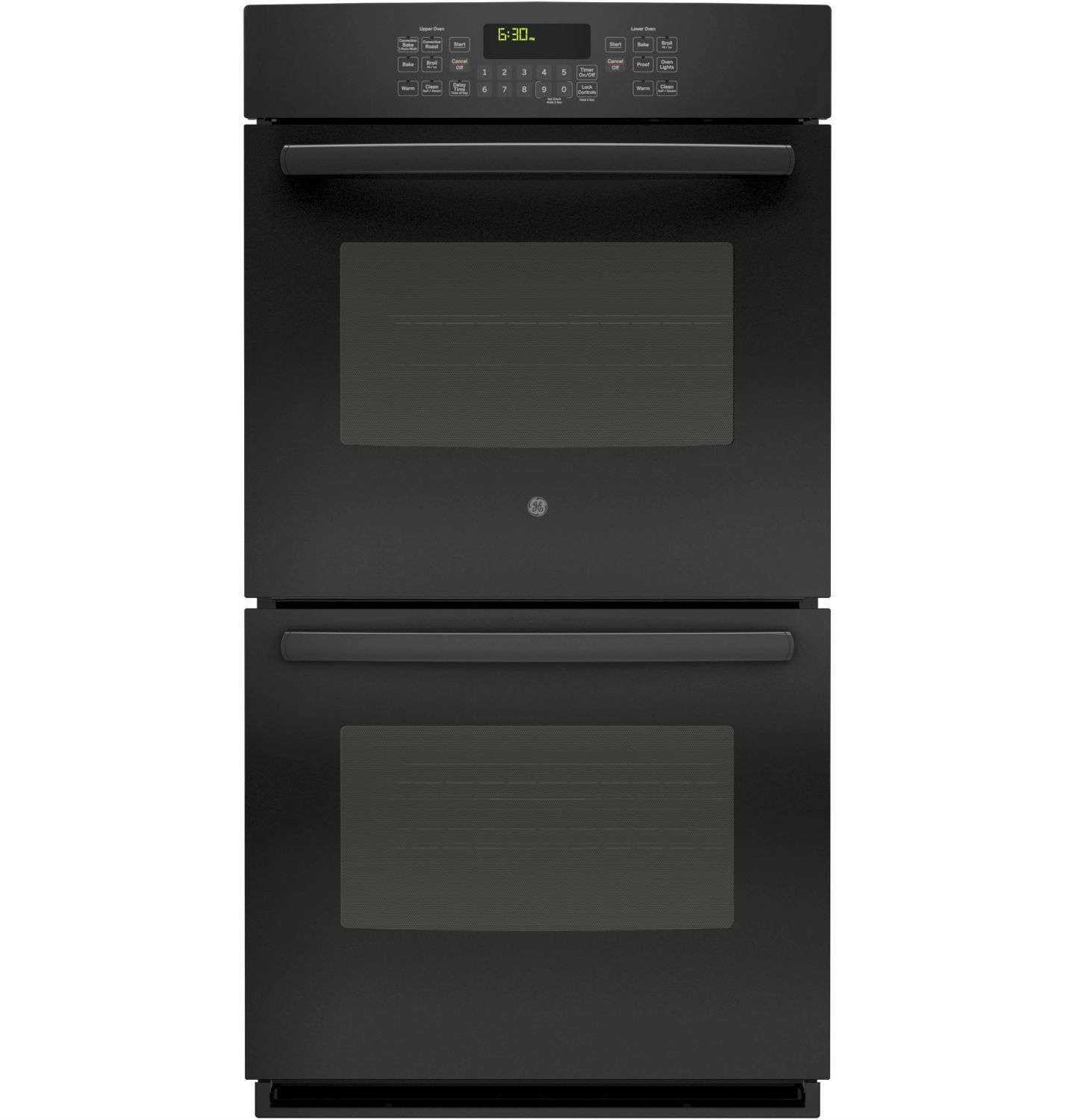"27"" Black Electric Double Wall Oven - Convection"