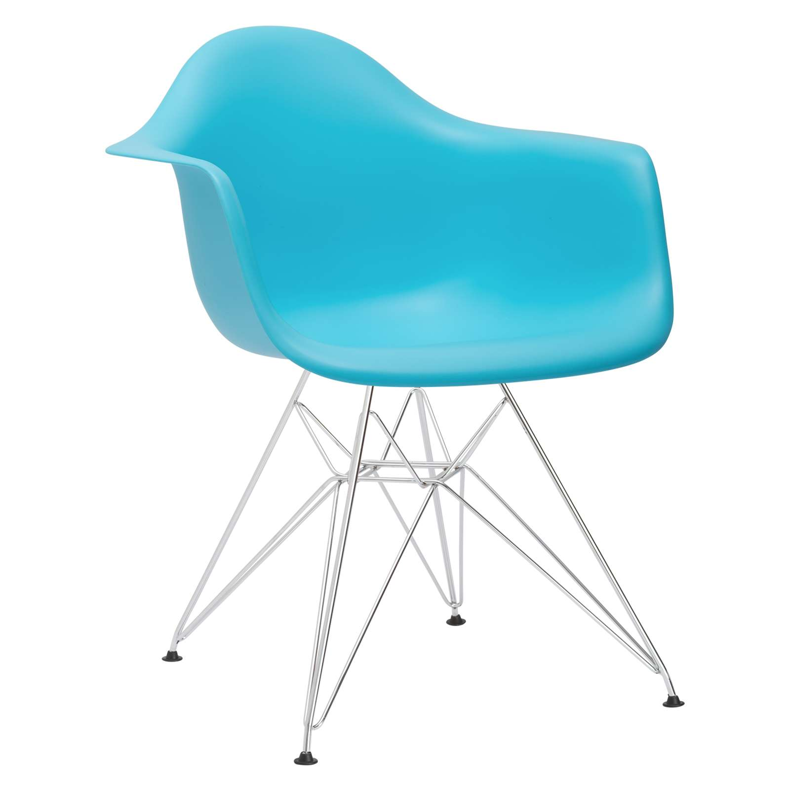 Padget Arm Chair in Aqua - Set of 2