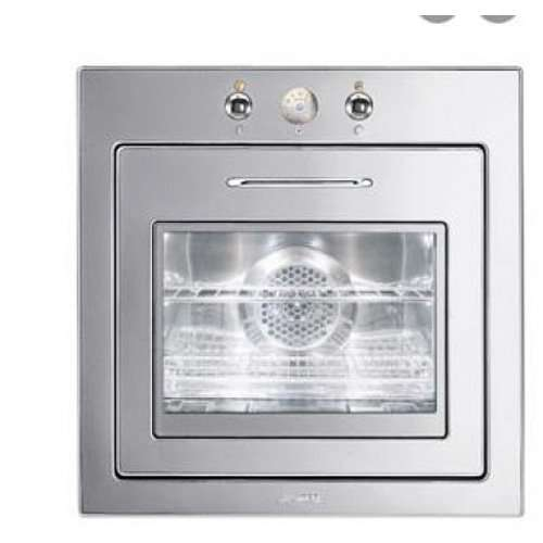 """Piano Design 24"""" Stainless Steel Electric Single Wall Oven - Convection"""