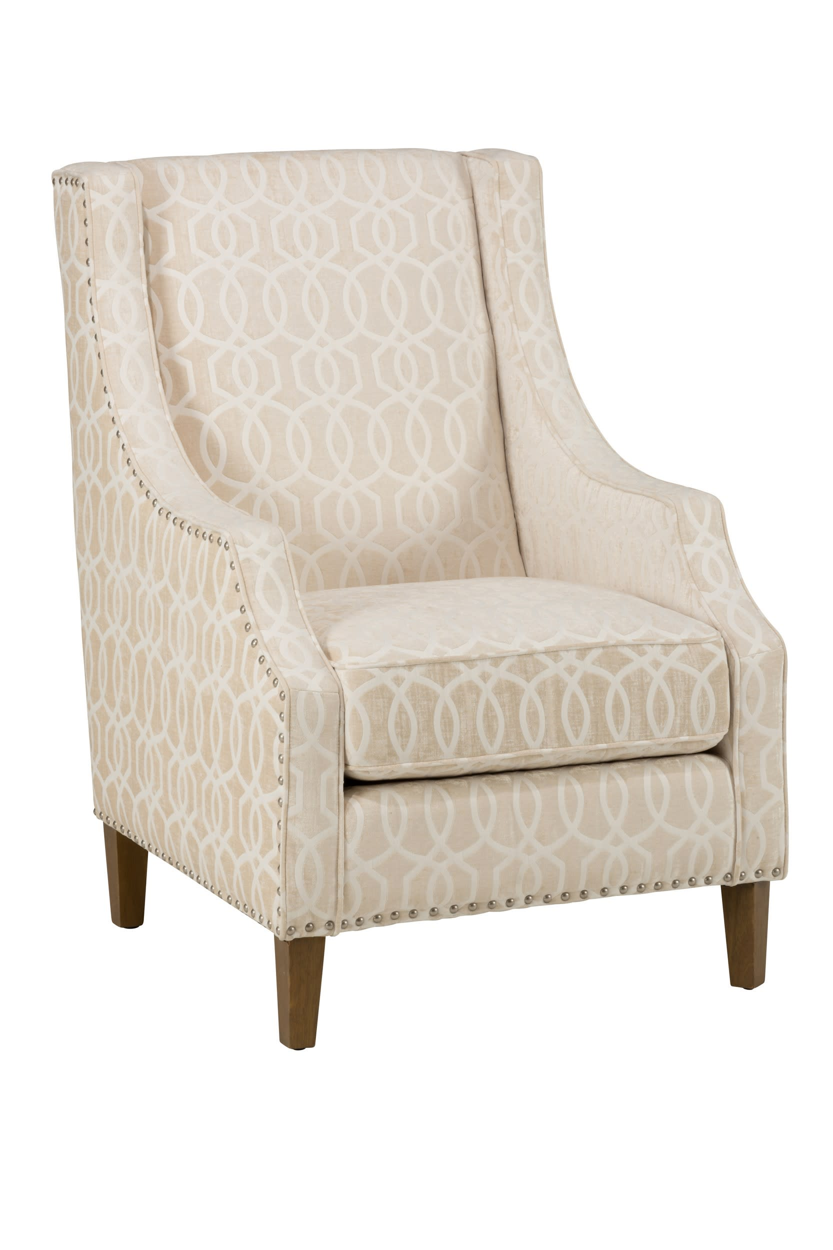 Quinn Ivory Accent Chair