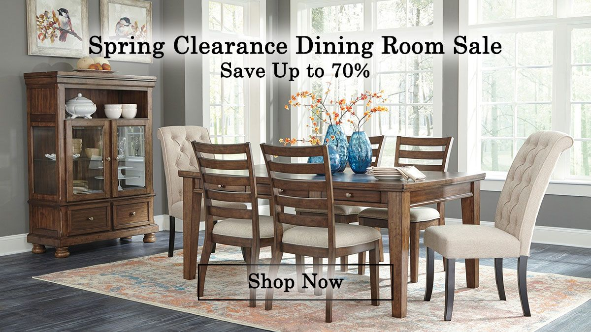 Spring Clearance Dining Room Deals
