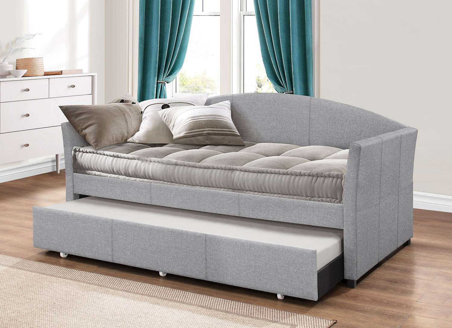 Hillsdale Furniture Westchester Daybed With Trundle Smoke Gray Reviews