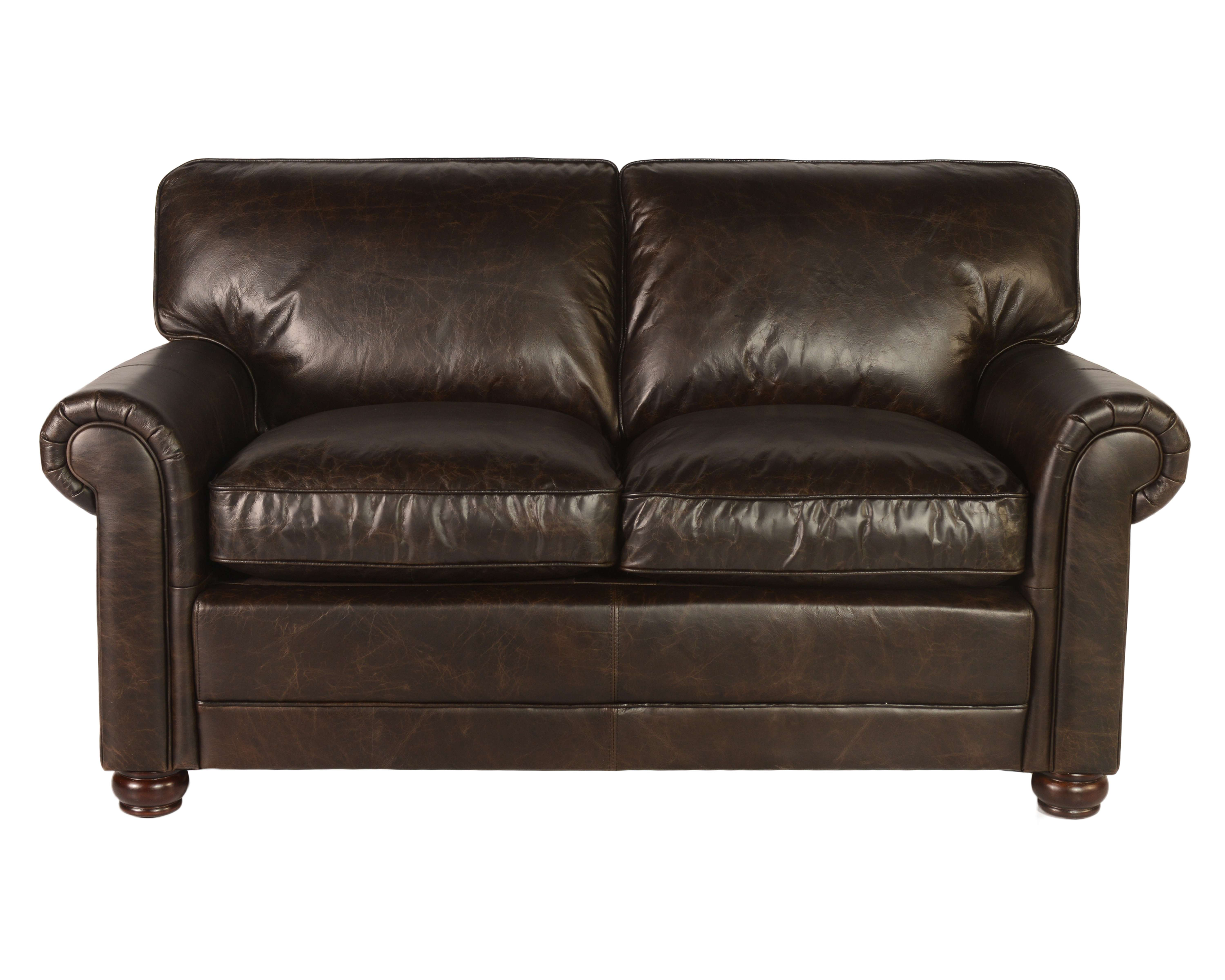 Hardwick Loveseat In Brompton Chocolate