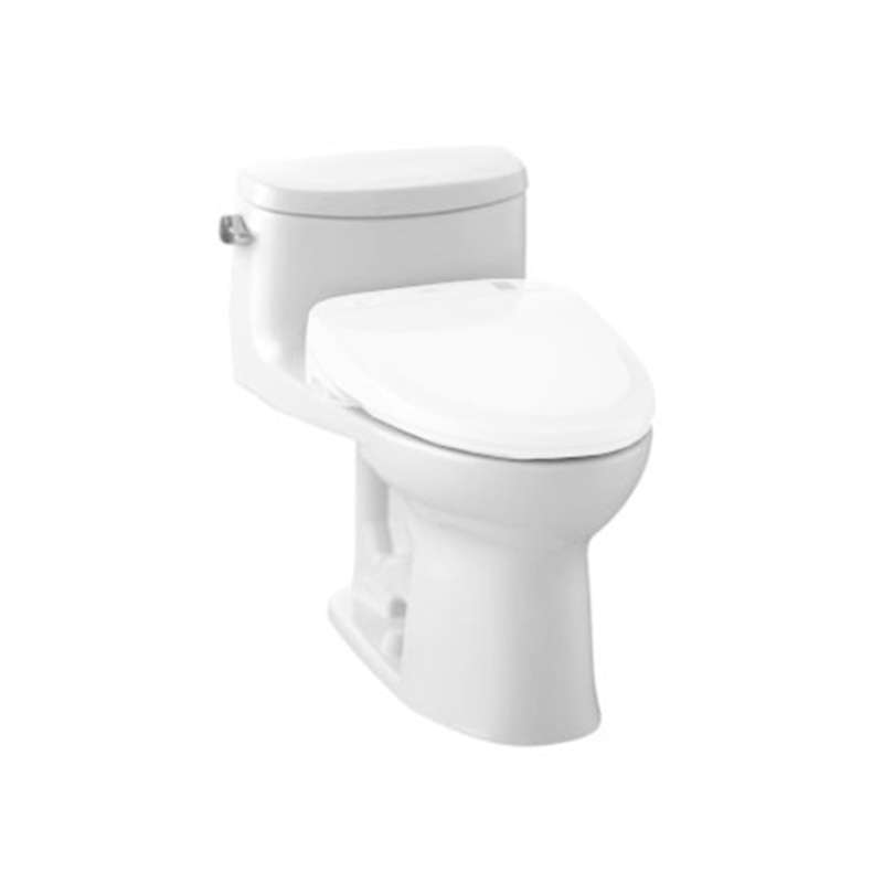 Toto Cst634cefgt20 01 Supreme Ii Elongated Toilet Cotton White