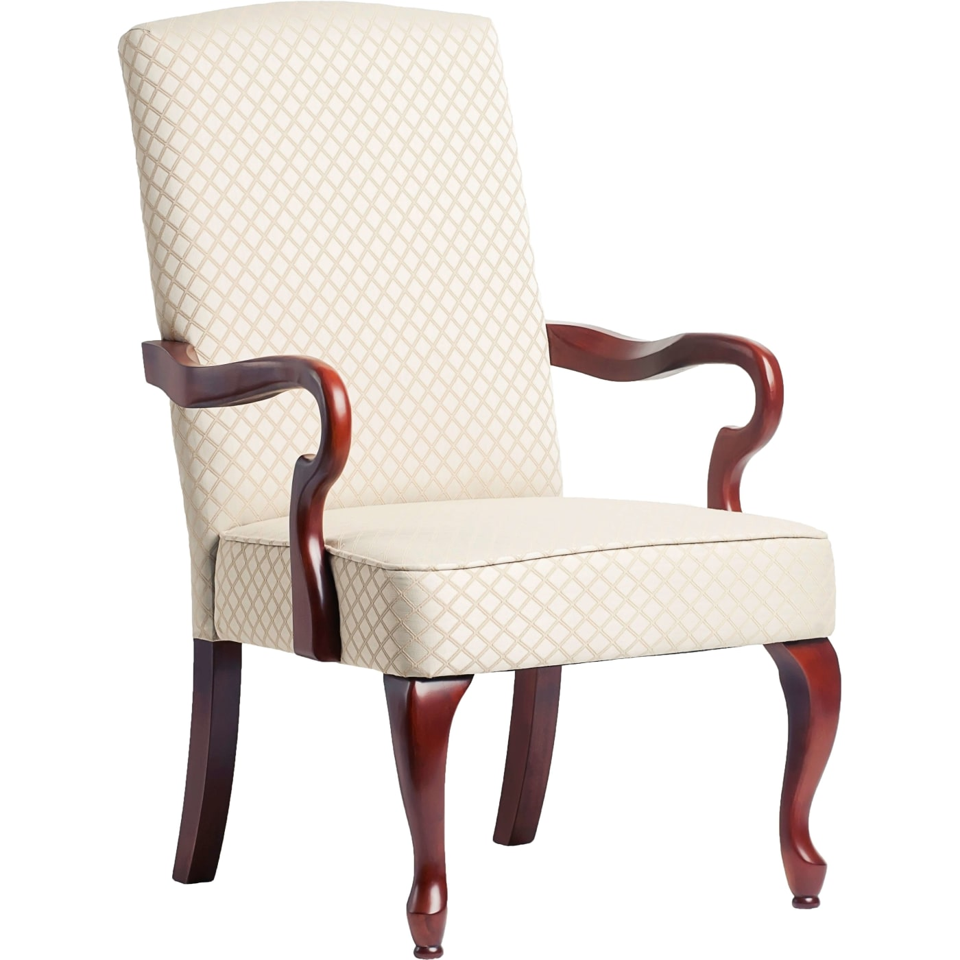 Derby Beige Gooseneck Arm Chair. COMP 6700 Beige ...