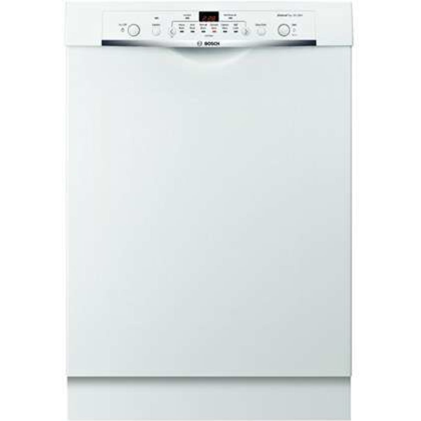 bosch she3ar72uc ascenta 24 white full console dishwasher. Black Bedroom Furniture Sets. Home Design Ideas