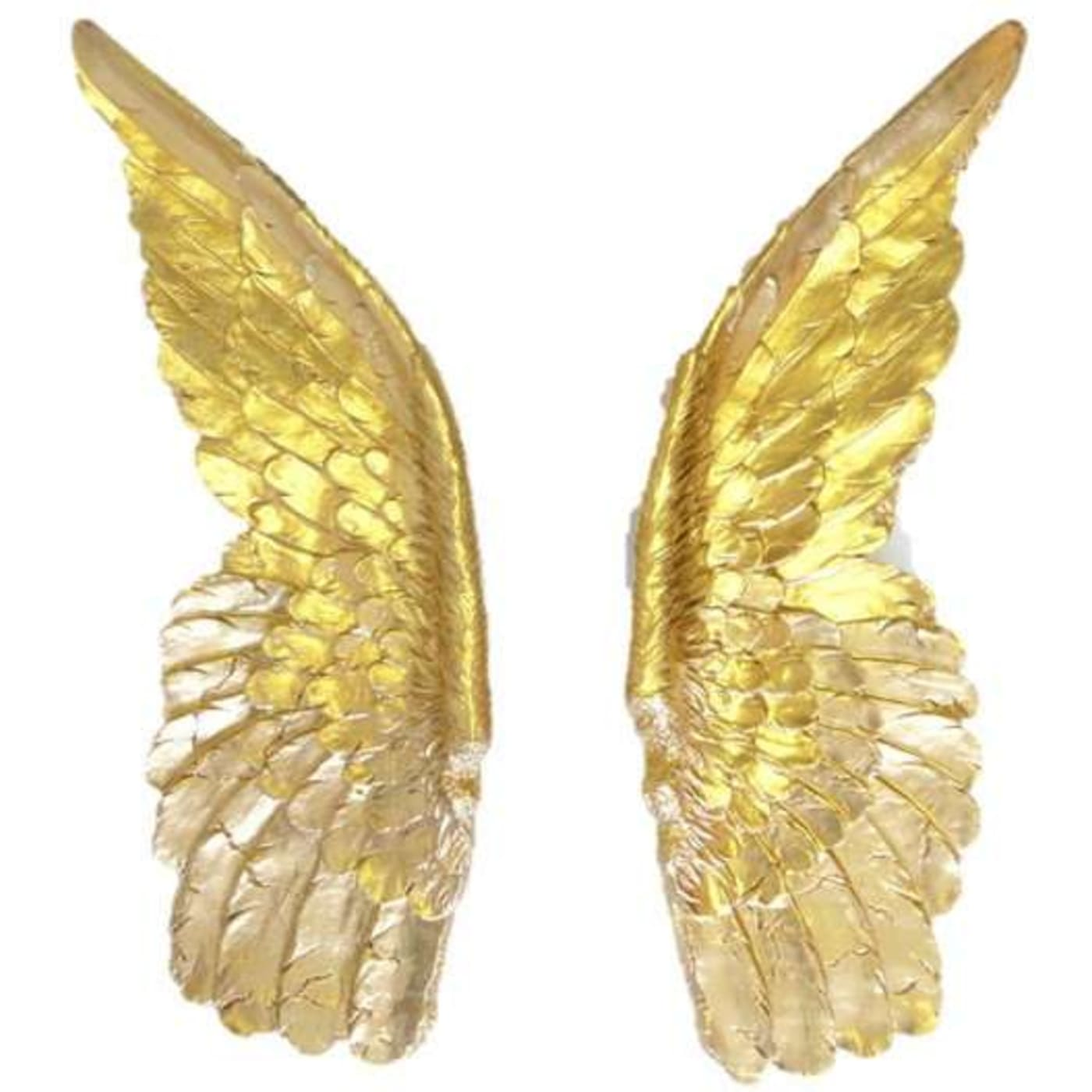 Near and Deer XLANG08 Gold XL Angel Wings Wall Mount Decor | Goed