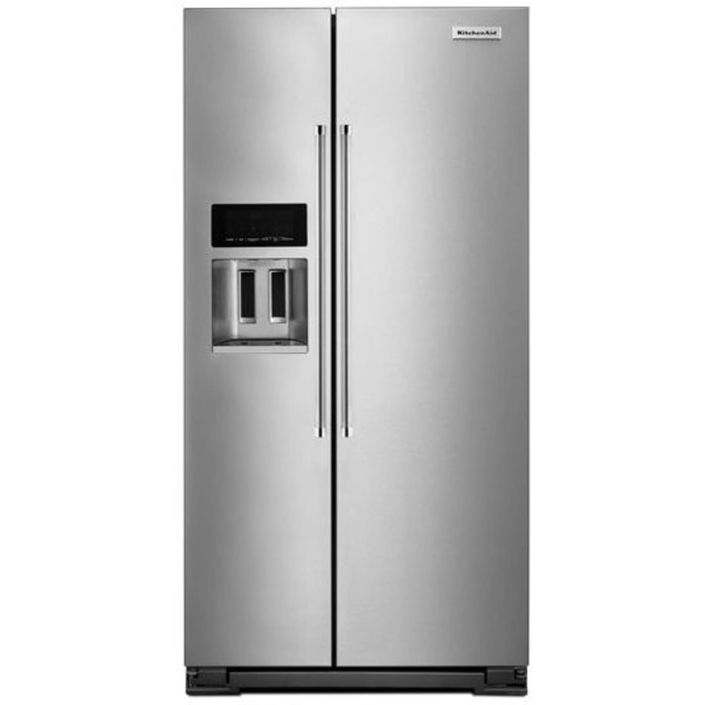 Delicieux Stainless Steel Counter Depth Side By Side Refrigerator. KitchenAid KRSC503ESS  ...