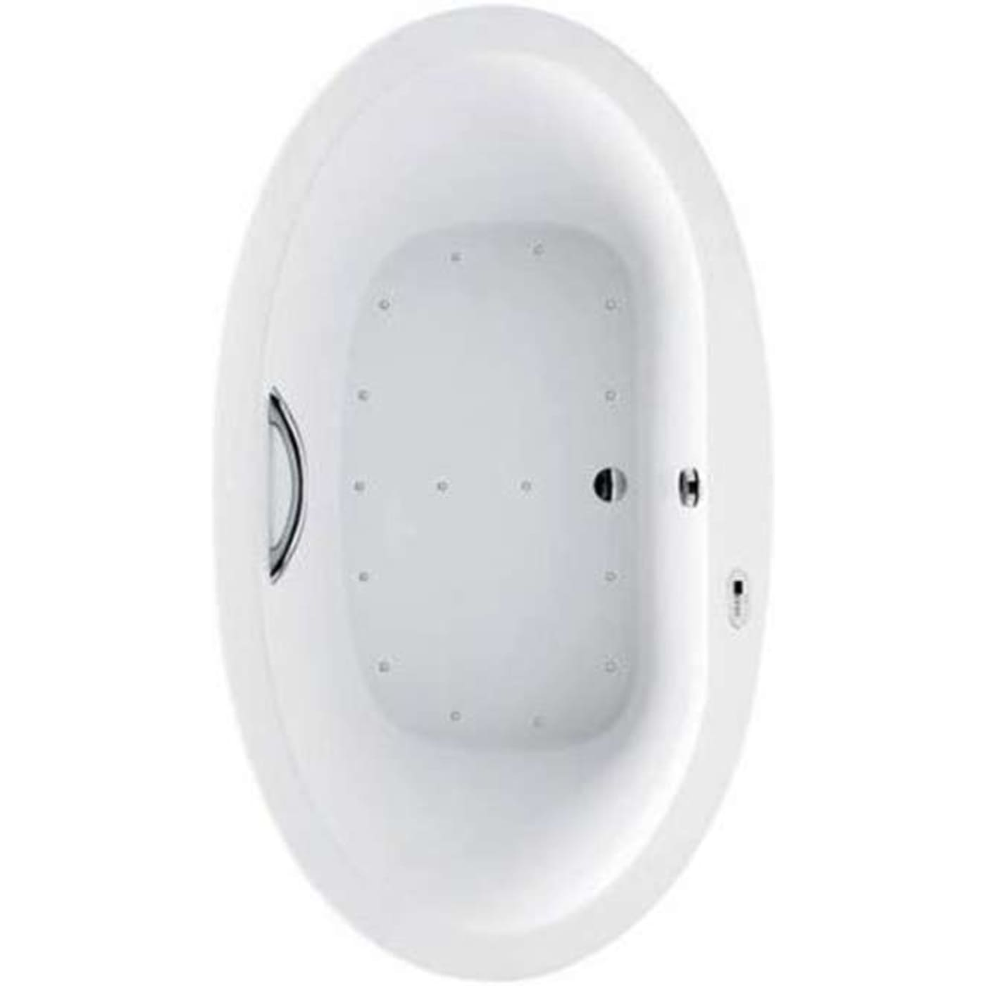 Toto Pacifica Air Bathtub ABR904T#01YBN Cotton/Brushed Nickel ...