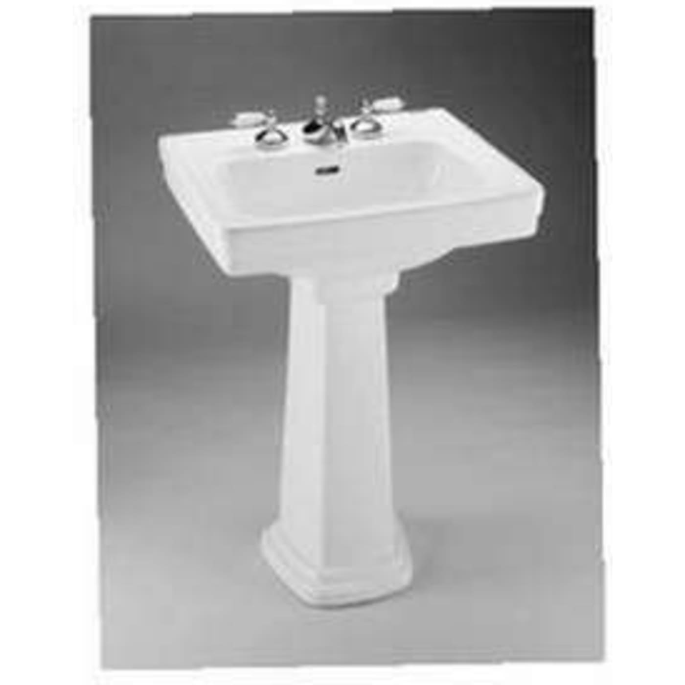 Toto Promenade Pedestal Vitreous China Bathroom Sink LPT532.8N#01 ...