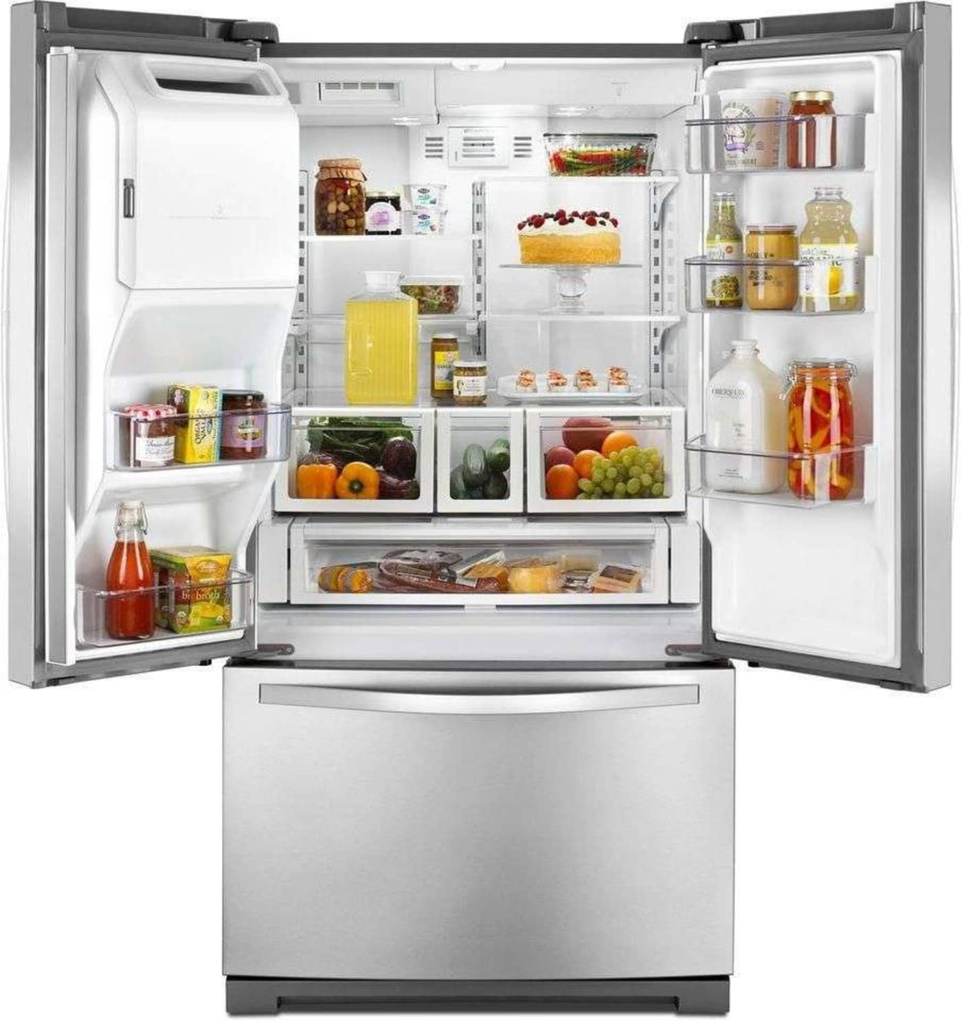 Wrf736sdam By Whirlpool French Door Refrigerators