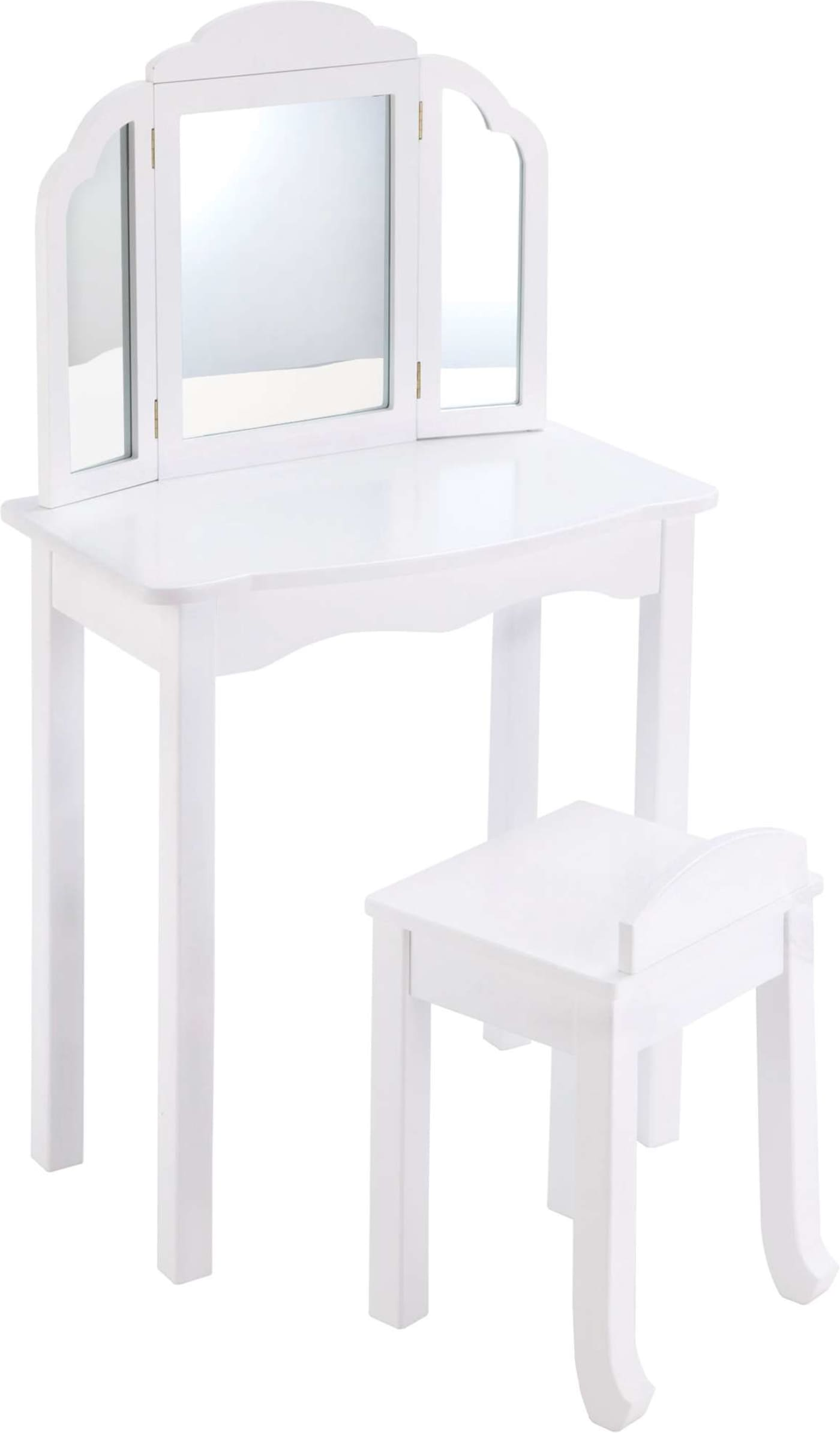 Guidecraft White Expressions Vanity Amp Stool Amp Reviews