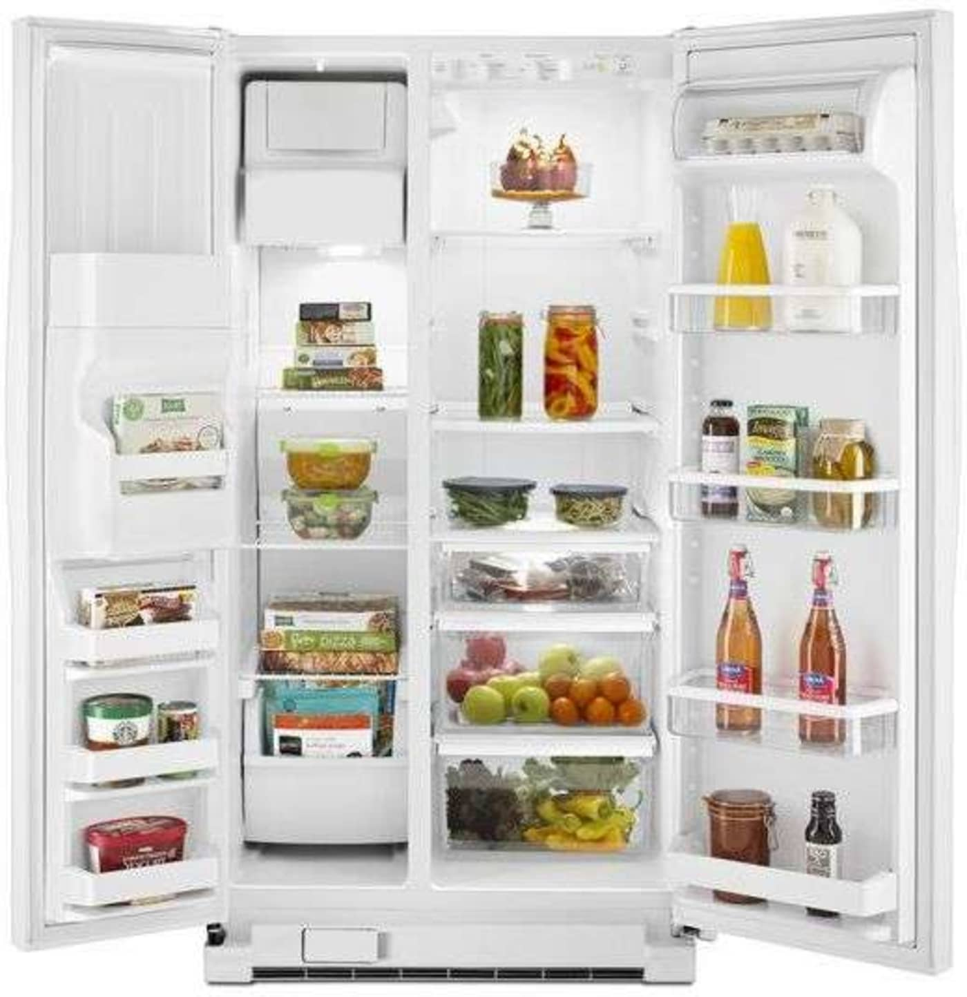 Wrs331fddw By Whirlpool Side By Side Refrigerators