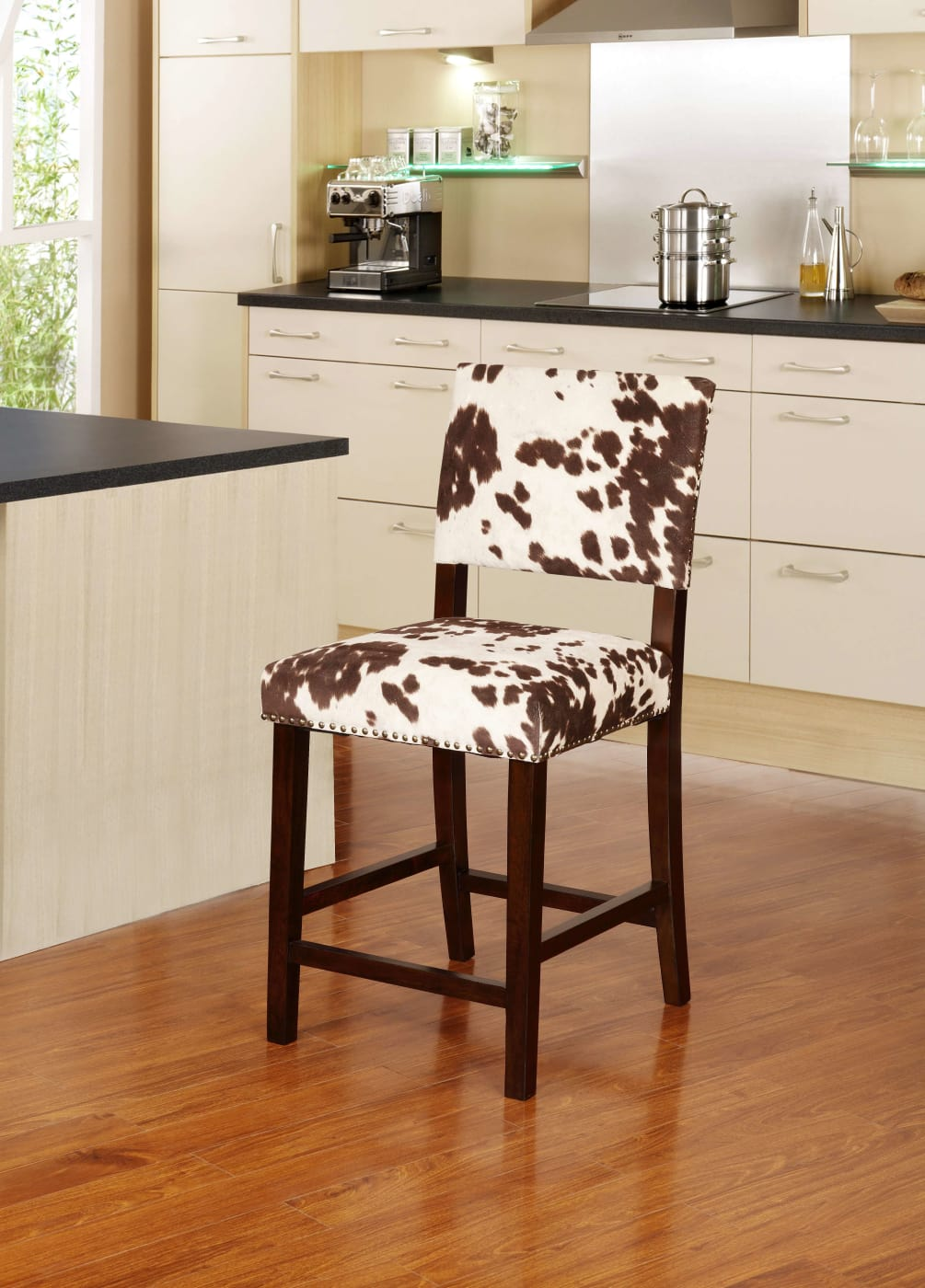 Linon Home Decor Products Inc Corey Udder Madness Brown