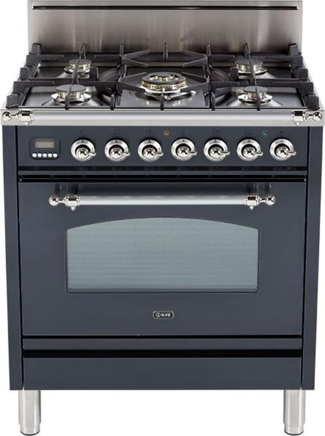 UPN76DVGGMY-NG by Ilve - Natural Gas Ranges | Goedekers.com