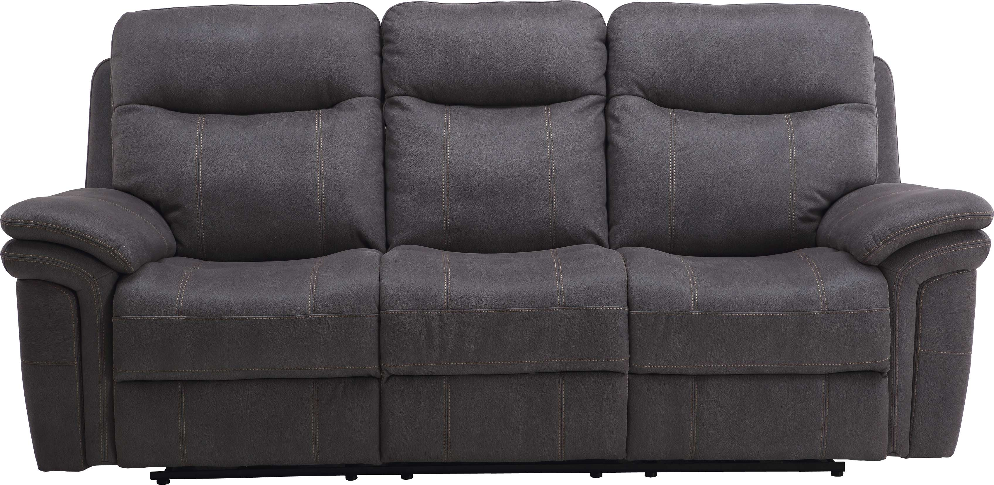 Parker Living Mason Carbon Sofa Dual Power Recliner With Power