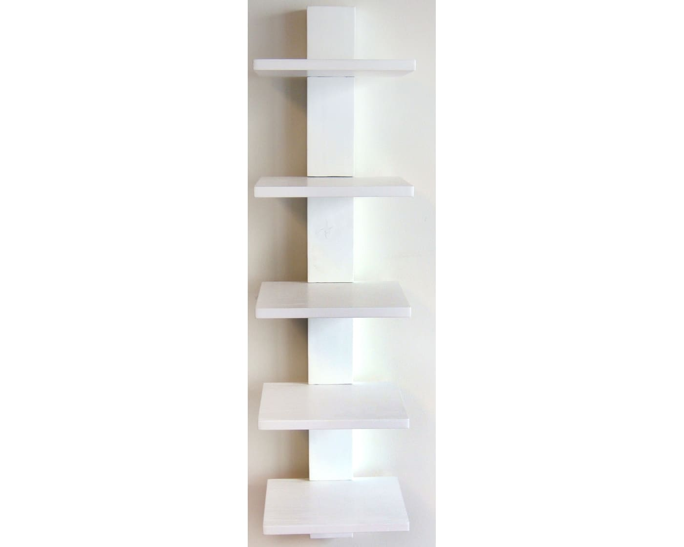 Proman Products Spine Wall Book Shelves In White