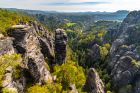 Sandstone Formations in Bohemian Switzerland