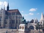 The Many Towered Buda Castle in Budapest