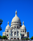 The Sacre Coeur Basilica in Montmartre Paris