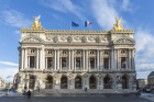 The Palais Garnier Opera House in Paris