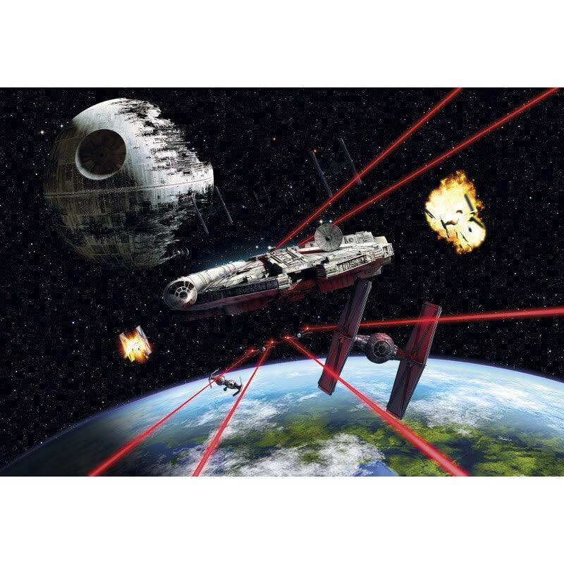 Komar Star Wars Millennium Falcon Wall Mural   8 489 Part 31
