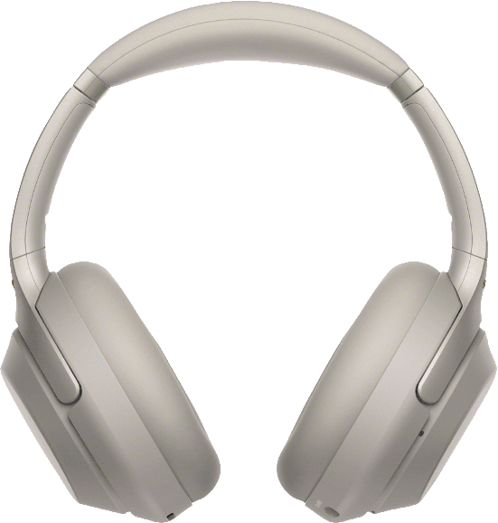 Silver Sony WH-1000 XM3 Over-ear Bluetooth Headphones.3
