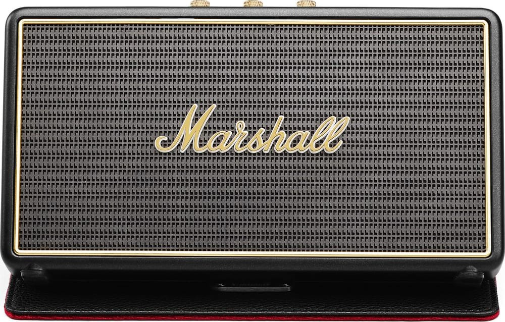 Black Marshall Stockwell Bluetooth-Lautsprecher.2
