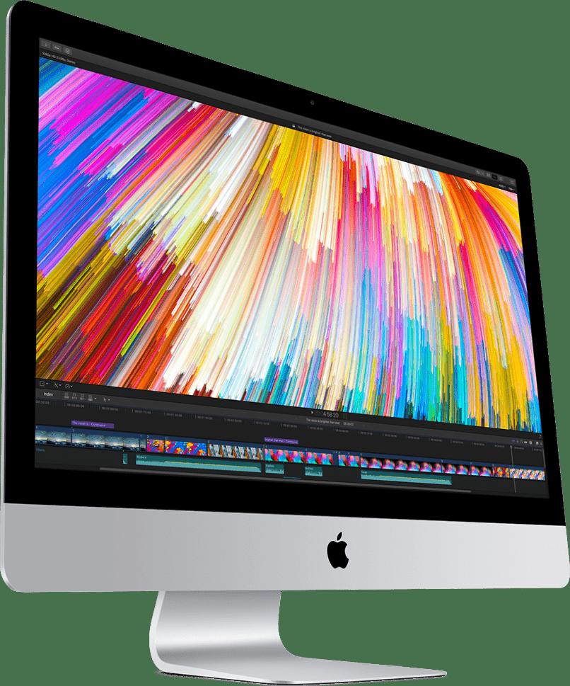 """Silber Apple iMac 27"""" Retina 5K (2018).1"""