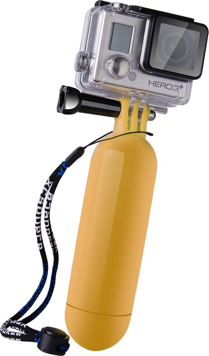 Yellow Floating GoPro Hand Grip.1