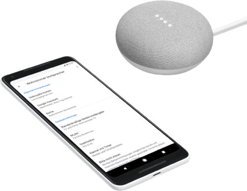 Kreide Google Home Mini.4