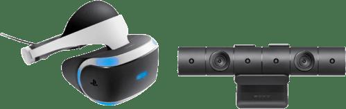 Weiß Sony PlayStation VR + Kamera.1
