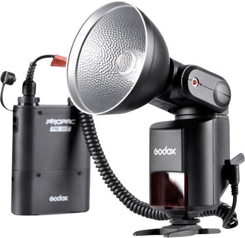 Schwarz Godox External Flash Witstro AD360.1