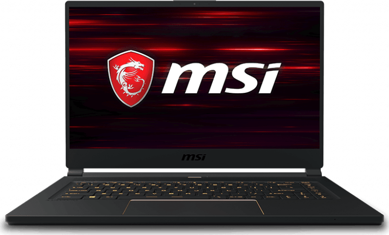Black MSI GS65 8SF-057 Stealth.1