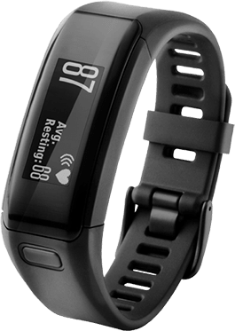 Black, XL Garmin Vivosmart HR+.1