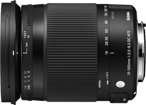 Black Sigma 18-300 mm/3.5-6.3 DC OS HSM.1