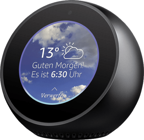 Black Amazon Echo Spot.2