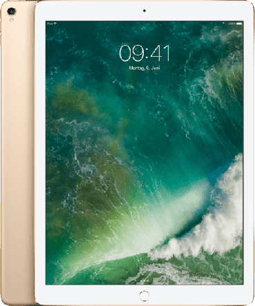 Gold Apple iPad Wi-Fi + Cellular (2018).2