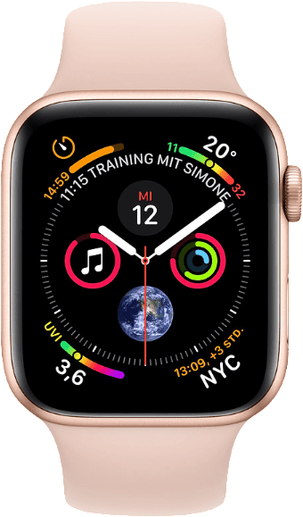 Rosa & Gold Apple Watch Series 4 GPS + Cellular, 40mm.1