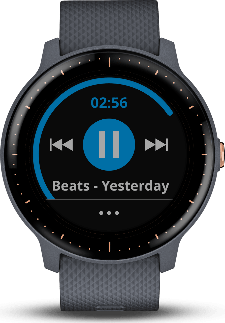 Blue GARMIN Vivoactive 3 Music.1