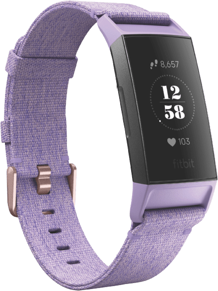 Lavender Woven Fitbit Charge 3 SE Activity Tracker.2
