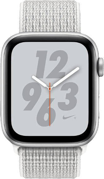 Silver Woven Apple Watch Nike+ Series 4 GPS+Cell, 40mm.1